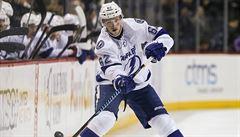 NHL: Šustr přispěl k výhře Tampy na ledě Islanders