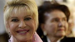 Prouza: Ivana Trumpová by byla velmi dobrá diplomatka. Snadno lidi osloví