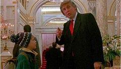 Donald Trump, herec. V 90. letech hrál v Sám doma, pomohl Kevinovi