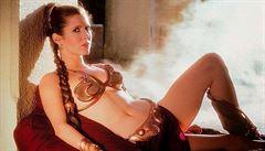 Princezna Leia prožila románek s Hanem Solem i v reálném životě, prozradila Fisherová po 40 letech