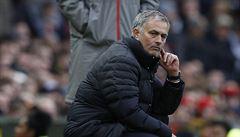 Jsme nejnešťastnější tým. Dostali jsme gól z jediné střely, žehrá na osud Mourinho