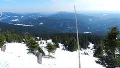 V Krkonoších připadl sníh, dál ale platí druhý lavinový stupeň