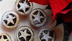 Netradiční cukroví: britské mince pie s brusinkovou náplní s vůní pomerančů