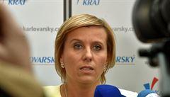Vedení ANO chce v čele asociace krajů Vildumetzovou, novou hejtmanku Karlovarského kraje