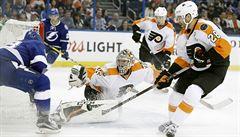 NHL: Palát přispěl  dvěma asistencemi k výhře Tampy, Voráček je opět bez bodu
