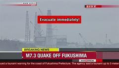 Japonsko zasáhlo silné zemětřesení. Způsobilo i menší tsunami