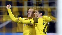 Dvanácti góly přepsali historii. Našeho gólmana je mi líto, řekl trenér Dortmundu