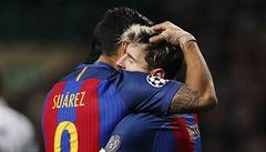 Messi dvěma góly vystřelil Barce postup, Bayern překvapivě nestačil na Rostov