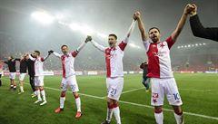Slavia využila zaváhání Zlína a po výhře nad Boleslaví je už druhá