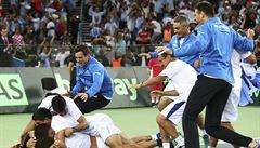 Davis Cup vyhrála po velkém obratu poprvé v historii Argentina, rozhodl Delbonis