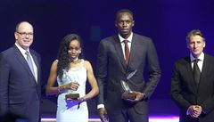Nejlepšími atlety uplynulého roku jsou podle IAAF olympijští šampioni Bolt a Ayanaová