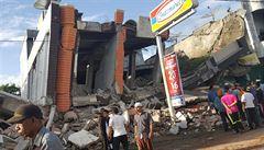 Zemětřesení v Indonésii. O život přišlo nejméně 92 osob