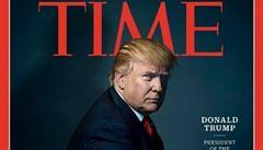 Osobností roku časopisu Time se stal 'prezident Rozdělených států amerických' Trump