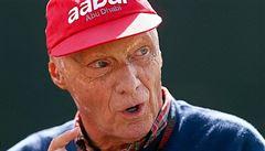 Legendární Niki Lauda je ve velmi vážném stavu, musel na transplantaci plic