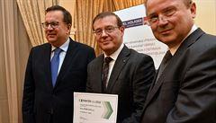 Titul Exportér roku obhájila Škoda Auto před firmami Foxconn a Agrofert