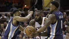 NBA: Cleveland ukončil vítěznou sérii basketbalistů Memphisu