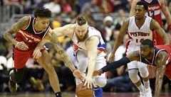 Po pěti zápasech dostal Satoranský v NBA opět šanci. Asistencemi přispěl k výhře