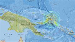 Oceánii zasáhlo silné zemětřesení. Nový Zéland odvolal varování před tsunami