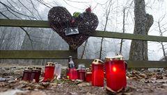 Vzkazy na dřevěném plotu. Lidé si na Hrádečku připomněli Václava Havla