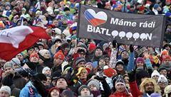 Když biatlon dává hokeji na frak. 'Nové Město má nejlepší fanoušky na světě'
