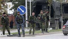 Povstalci stříleli v čečenském parlamentu. Šest lidí prý zemřelo