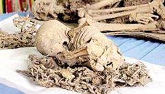 Vědci objevili mumie indiánů staré 800 let