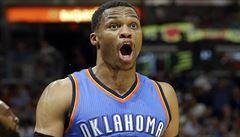 NBA: Westbrook dovedl Oklahomu k výhře 27. triple doublem v sezoně