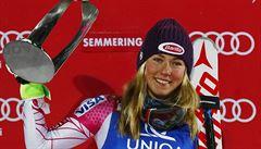 Neskutečná Shiffrinová vyhrála slalom v Semmeringu, Strachová dojela šestá