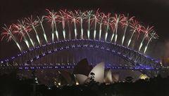 Východní část Asie, Austrálie a Tichomoří už oslavily rok 2017