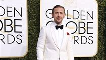 Actor Ryan Gosling arrives at the 74th Annual Golden Globe Awards in Beverly...