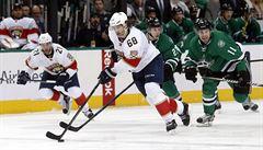 NHL: Jágr pomohl gólem Floridě zvítězit a dostihl Coffeyho v historickém pořadí