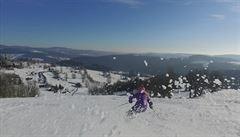 Lyžařské středisko Paseky nad Jizerou láká hlavně rodiny s dětmi