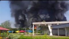 V Německu hořela ubytovna pro uprchlíky, požár nejspíš způsobili její obyvatelé