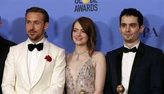 Hollywoodští producenti vybrali jako nejlepší film La La Land