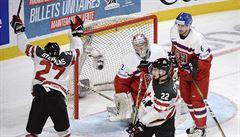 Dvacítka znovu na medaili nedosáhne. Kanaďanům ve čtvrtfinále podlehla 3:5