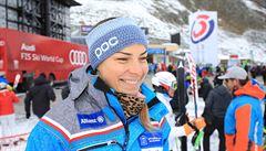 Buď ráda, že lyžuješ za Česko, slyšela slovensky mluvící slalomářka Dubovská