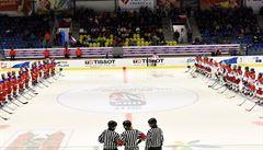 VIDEO: Fanoušci hokejistek vypískali ruskou hymnu. Kvůli politice? ptají se Rusové