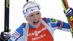 Sprint opanovala Mäkäräinenová, Davidové závod tentokrát nevyšel