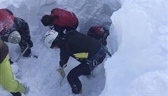 Sníh uvěznil sedm Čechů. Ostatní se je snažili najít, říká rakouský inspektor o alpské tragédii