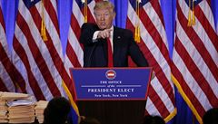 Trumpovo prezidentství populistickou rebelií nebude