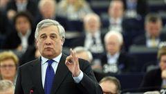 Evropský parlament má po dlouhém hlasování nového předsedu, je to lidovec Tajani