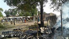 Nigérie místo Boko Haram bombardovala uprchlický tábor, zemřelo více než 100 lidí