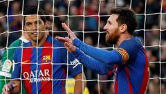 El Clásico pro Barcelonu. V 92. minutě rozhodl o výhře 3:2 nad Realem Messi