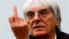 Z amatérských závodů vytvořil zlatý důl. Takovou stopu nechal v F1 prostořeký Ecclestone