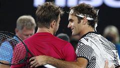 Je to de*il, vtipkoval o Federerovi po porážce ve finále Wawrinka