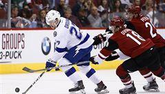 NHL: Vrbata a Hanzal skórovali. Arizona porazila Tampu Bay 5:3