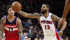 Po sérii čtyř vítězství basketbalisté Washingtonu prohráli v Detroitu