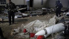 V Mosulu našli bojové chemikálie a ruské rakety. Patřily prý Islámskému státu