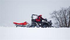Český skialpinista přežil dvousetmetrový pád ve Vysokých Tatrách