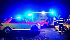 Nehoda šesti aut v Praze u OC Chodov uzavřela D1 směrem do centra